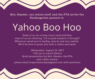 Yahoo Boo Hoo 2017