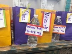 Welcome Back Treats for teachers & staff