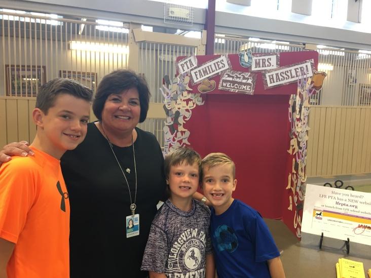 PTA Families Welcome Mrs. Hassler