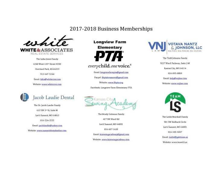 PTA Business Memberships for Directory_1_pe
