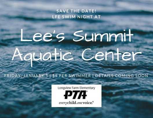 save the date aquatic center night jan 2018