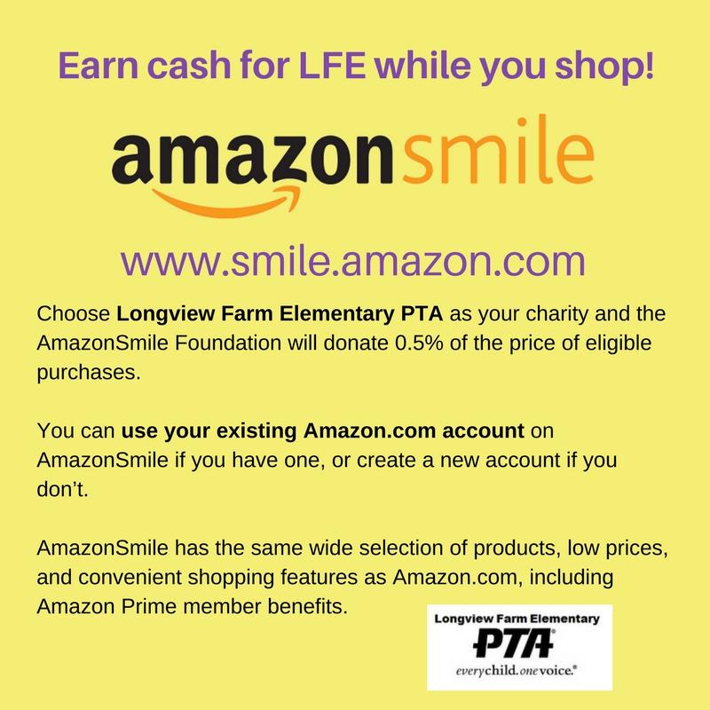 Amazon Smile Flyer 2018